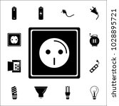 electric outlet icon. set of... | Shutterstock .eps vector #1028895721