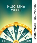 wheel of fortune lottery luck... | Shutterstock .eps vector #1028902909