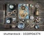 exploration and nautical theme... | Shutterstock . vector #1028906374
