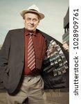 older dealer of narcotics...   Shutterstock . vector #1028909761