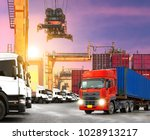 industrial logistics and... | Shutterstock . vector #1028913217