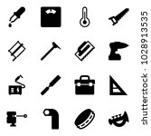 solid vector icon set   pipette ... | Shutterstock .eps vector #1028913535