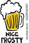 a nice frosty   Shutterstock .eps vector #1028930587