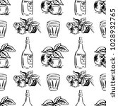 vector seamless pattern with... | Shutterstock .eps vector #1028932765