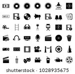 movie icons set | Shutterstock .eps vector #1028935675