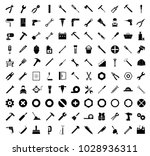 tools icons set | Shutterstock .eps vector #1028936311