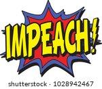 impeach a president | Shutterstock .eps vector #1028942467