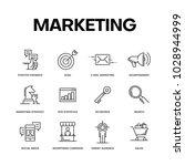 marketing icon concept | Shutterstock .eps vector #1028944999