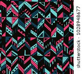 vector seamless pattern with... | Shutterstock .eps vector #1028948677