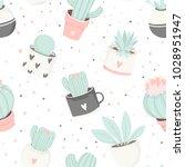 Cute Summer Theme Cactus...