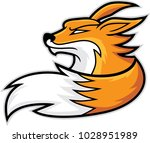 fox head mascot  vector...   Shutterstock .eps vector #1028951989