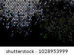 dark green vector greeting card ... | Shutterstock .eps vector #1028953999