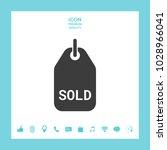sold tag symbol