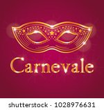 italian carnival illustration... | Shutterstock .eps vector #1028976631