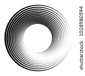 concentric circles  concentric... | Shutterstock .eps vector #1028980594