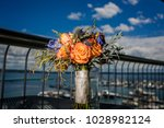 beautiful wedding bouquet | Shutterstock . vector #1028982124