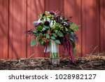 beautiful wedding bouquet | Shutterstock . vector #1028982127