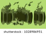 forests and the environment.... | Shutterstock .eps vector #1028986951