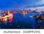 dark illuminated architecture...   Shutterstock . vector #1028991541