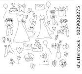 hand drawing cartoon vector for ... | Shutterstock .eps vector #1029008275