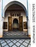 marrakech morocco   january...   Shutterstock . vector #1029017095
