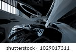 abstract white and black... | Shutterstock . vector #1029017311