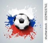 football 2018 world... | Shutterstock .eps vector #1029023761