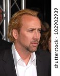 """Small photo of Nicolas Cage at the """"Kick-Ass"""" Los Angeles Premiere, Arclight Theater, Hollywood, CA. 04-13-10"""
