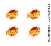boom  fun shape design. boom ...   Shutterstock .eps vector #1029034615