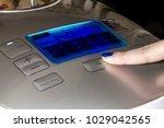 multicooker menu  a female...   Shutterstock . vector #1029042565