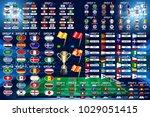 football world championship... | Shutterstock .eps vector #1029051415