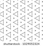 seamless geometric ornamental... | Shutterstock .eps vector #1029052324