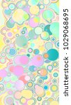 circles abstract style colorful ... | Shutterstock . vector #1029068695