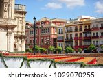 seville  spain   april 05  2012 ... | Shutterstock . vector #1029070255