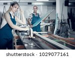 woman is ready to working on... | Shutterstock . vector #1029077161