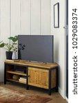 luxury living room interior | Shutterstock . vector #1029083374