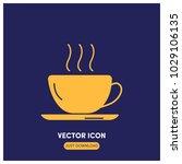 cup of tea vector icon...