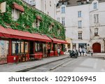 typical view of the parisian... | Shutterstock . vector #1029106945