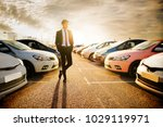 handsome young man in a...   Shutterstock . vector #1029119971