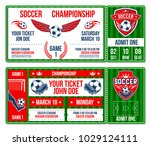 soccer cup championship entry... | Shutterstock .eps vector #1029124111