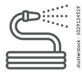 garden hose line icon  farming...   Shutterstock .eps vector #1029124519