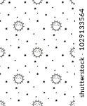 cute pattern for kids  girls... | Shutterstock .eps vector #1029133564
