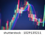 stock market digital graph... | Shutterstock . vector #1029135211