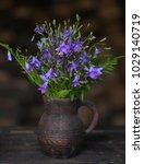 Field Flowers Bells In A...