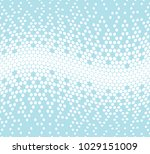 abstract halftone geometric... | Shutterstock .eps vector #1029151009
