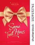 beautiful invitation or... | Shutterstock .eps vector #1029152761