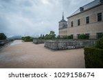 san lorenzo de el escorial  ... | Shutterstock . vector #1029158674