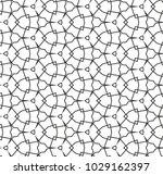 seamless geometric ornamental... | Shutterstock .eps vector #1029162397
