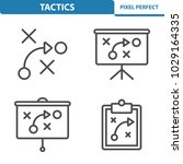 tactics icons. professional ...   Shutterstock .eps vector #1029164335