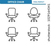 office chair icons.... | Shutterstock .eps vector #1029164341